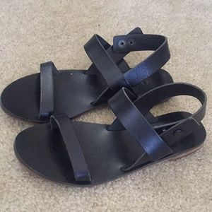 Everlane Black Sandals